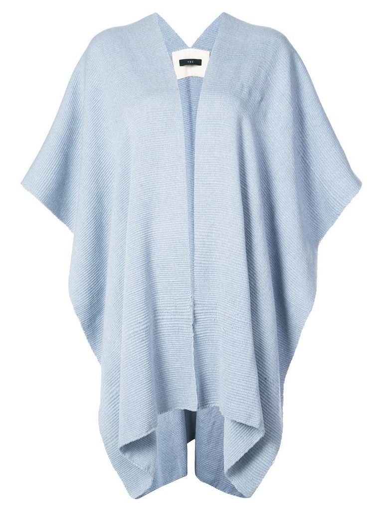 Voz shortsleeved cape - Blue