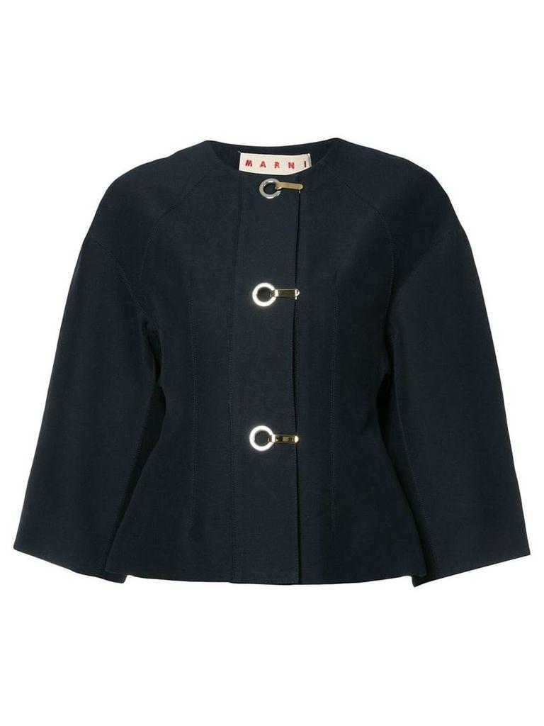 Marni cropped jacket - Black