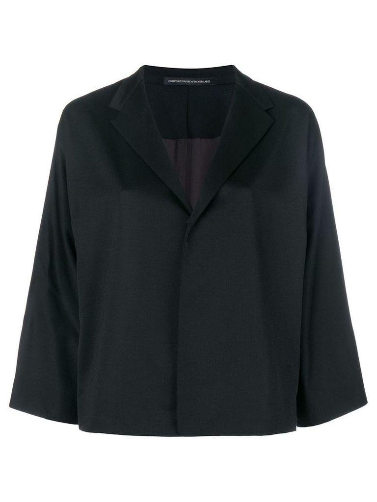 Y's cropped jacket - Black