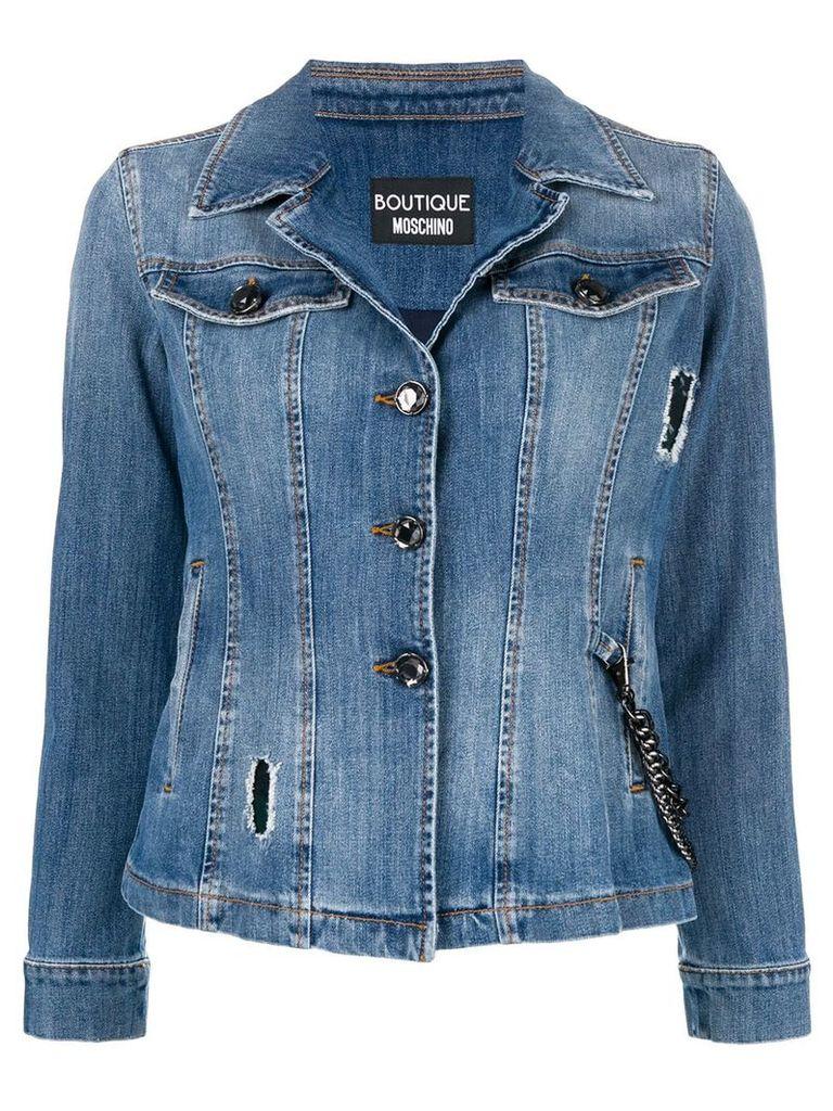 Boutique Moschino denim jacket - Blue