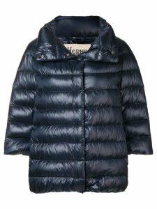 Herno zipped padded jacket - Blue