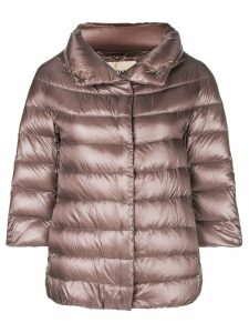 Herno 3/4 sleeve puffer jacket - Pink