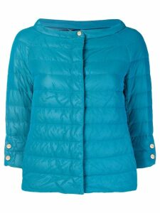 Herno feathered puffer jacket - Blue