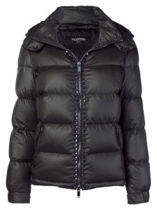 Valentino down feather filled puff jacket - Black