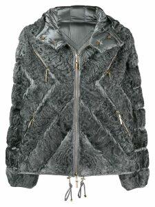 Liska full-zipped padded jacket - Grey