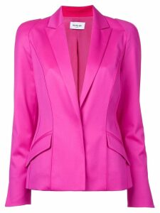 Mugler long sleeved blazer jacket - Pink