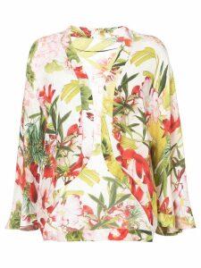 Josie Natori Paradise Floral jacket - Multicolour