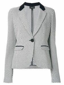 Emporio Armani tailored jacket - Blue