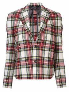 R13 checked jacket - Red