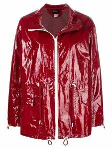 Isabel Marant Enzo waterproof jacket - Red