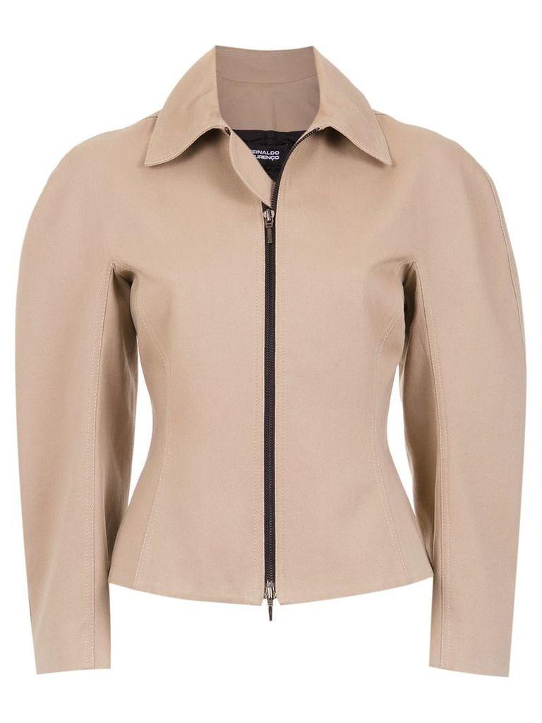 Reinaldo Lourenço wide sleeved jacket - Neutrals