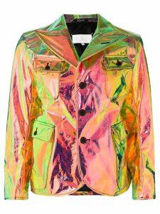 Maison Margiela coated jacket - Green