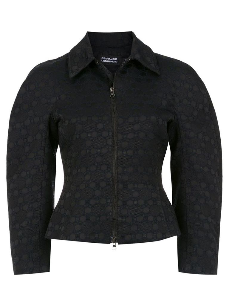 Reinaldo Lourenço wide sleeved jacket - Black