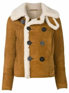 Dsquared2 sheepskin shearling jacket - Brown