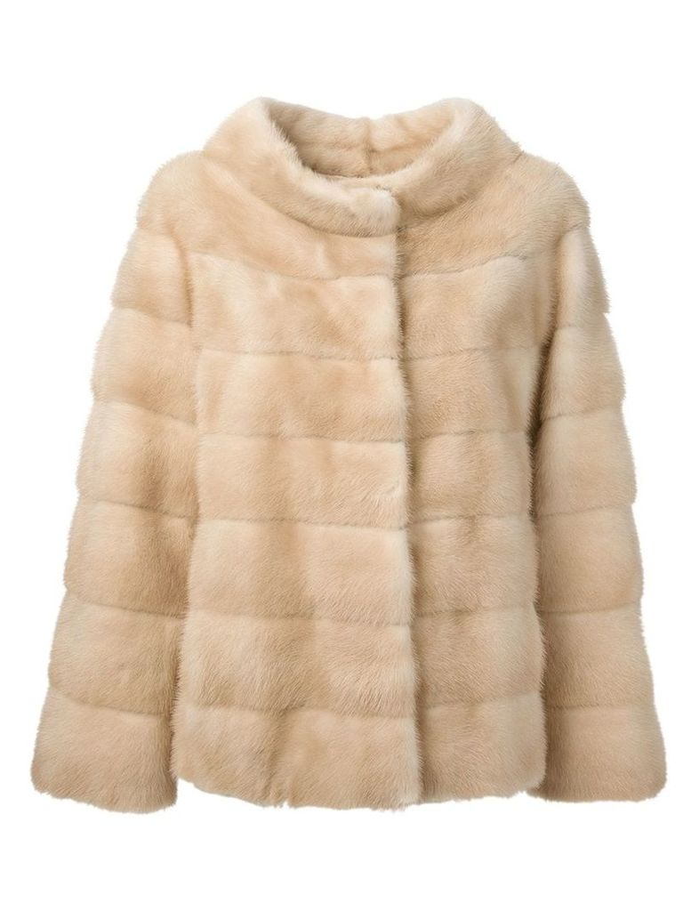 Liska 'Philippa' coat - Neutrals