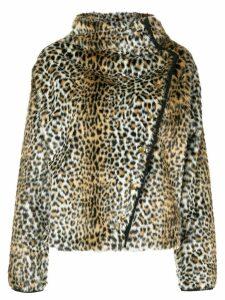 Philosophy Di Lorenzo Serafini leopard print jacket - Neutrals