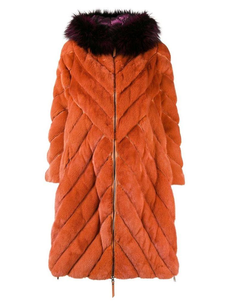 Liska padded coat - Yellow