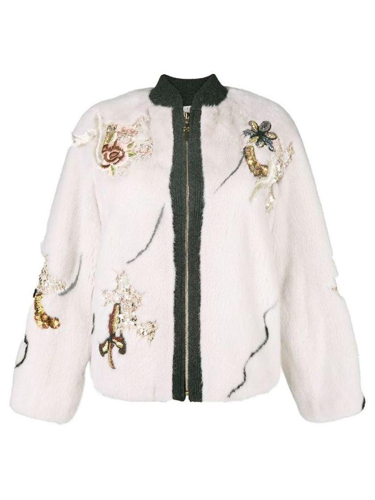 Cara Mila Jayne jacket - Neutrals