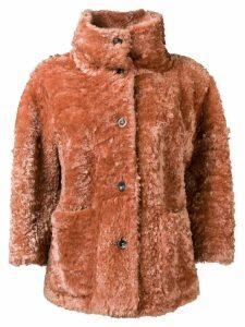 Desa 1972 shearling jacket - Pink