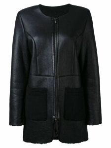 Liska zip jacket - Schwarz