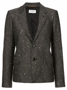 Saint Laurent embellished blazer - Black