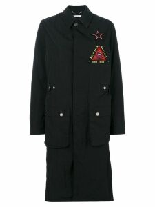 Givenchy military patch jacket - 001 Black/ Red