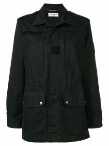Saint Laurent military parka jacket - Black