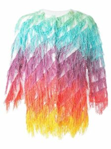 Ava Adore fringe jacket - Red