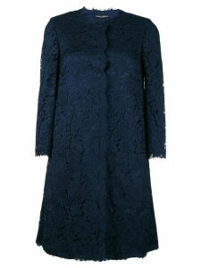 Dolce & Gabbana lace coat - Blue