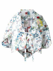Antonio Marras floral print kimono - White