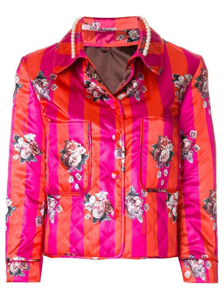 Golden Goose Deluxe Brand printed jacket - Pink