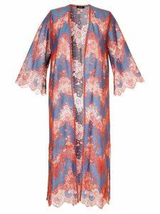 Loveless lace kimono - Red