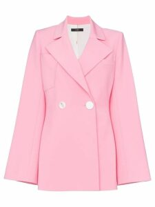 Ellery Calling Card wool blend blazer jacket - Pink