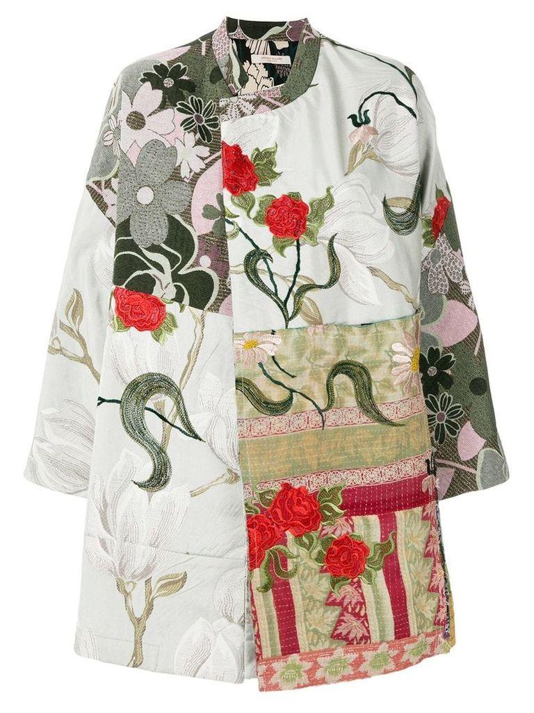 Ermanno Gallamini patchwork jacket - Multicolour