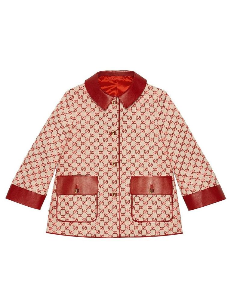 Gucci GG canvas jacket - Red