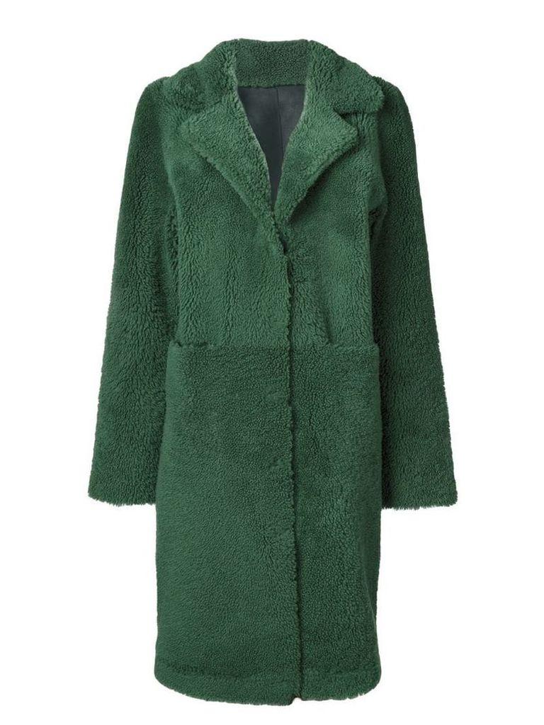 Frenken oversized coat - Green