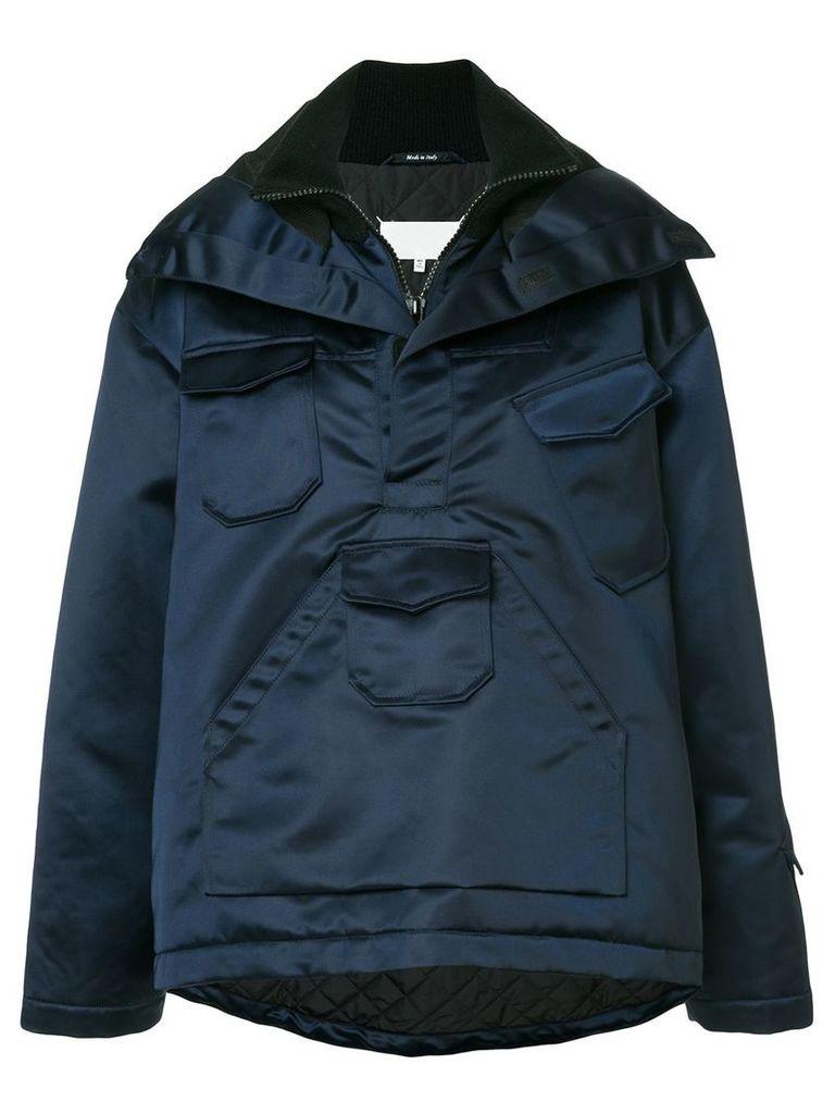 Maison Margiela oversized jacket - Blue