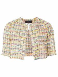 Talbot Runhof Nununu7 tweed jacket - Multicolour