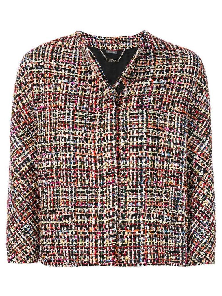 Alexander McQueen Wishing Tree tweed jacket - Multicolour