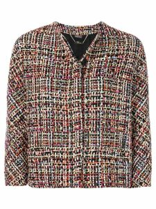 Alexander McQueen Wishing Tree tweed jacket - Multicolour