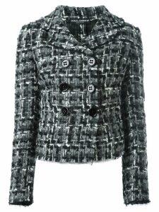Dolce & Gabbana tweed jacket - Black