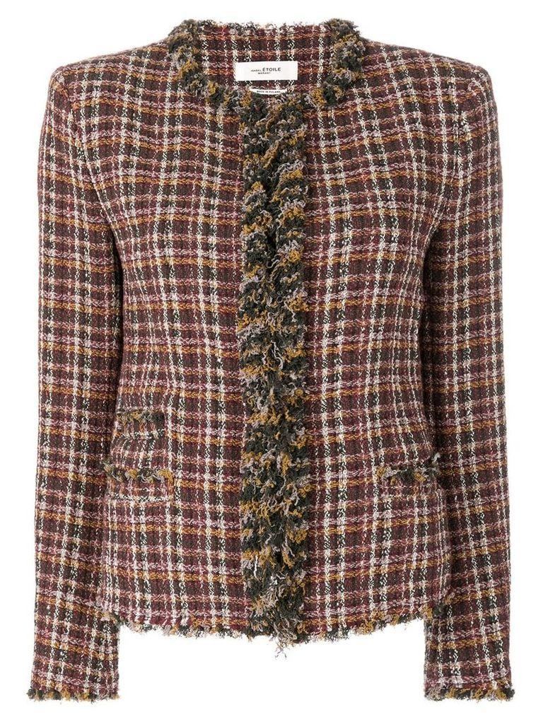 Isabel Marant Étoile Nawell tweed jacket - Multicolour