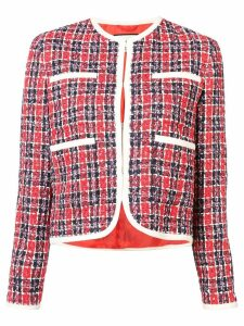 Gucci tweed jacket - Red