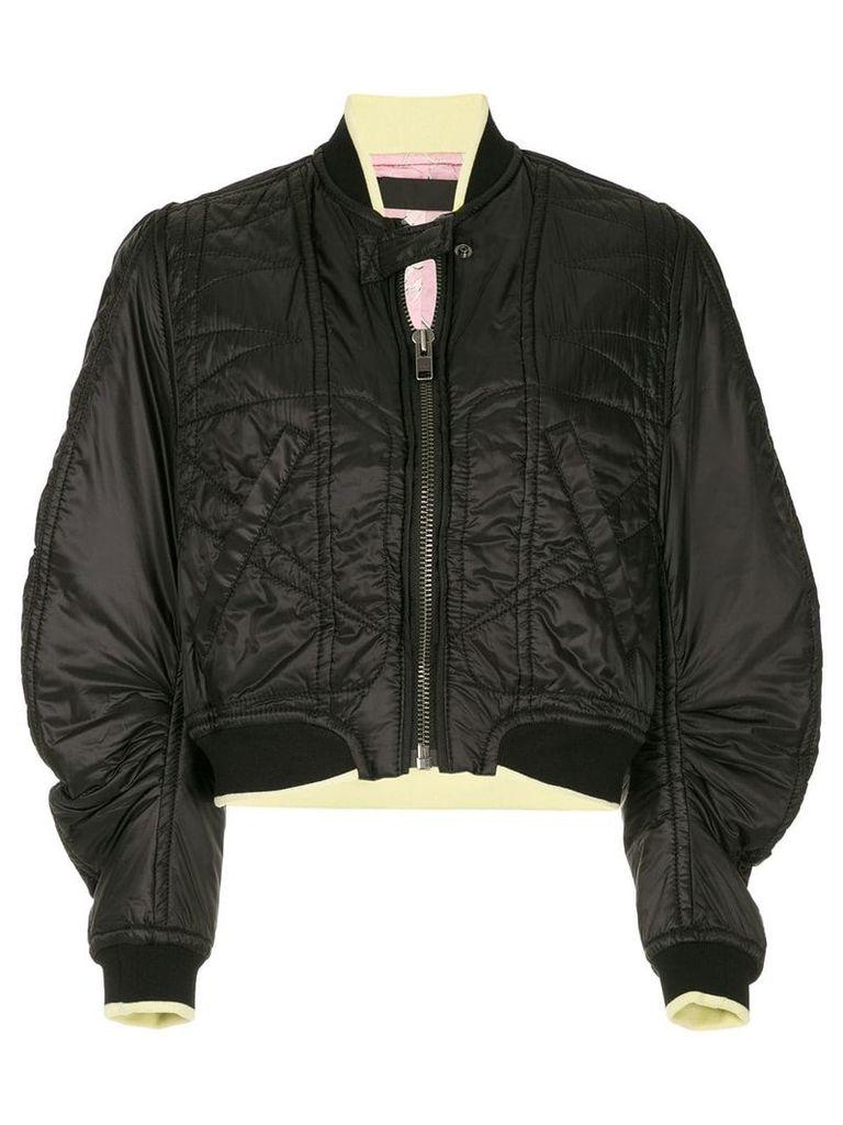 Haider Ackermann Zoisite technical bomber jacket - Black
