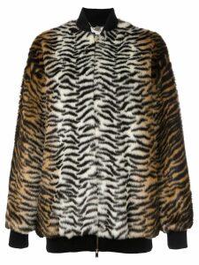 Stella McCartney 'Sabine' bomber jacket - Brown