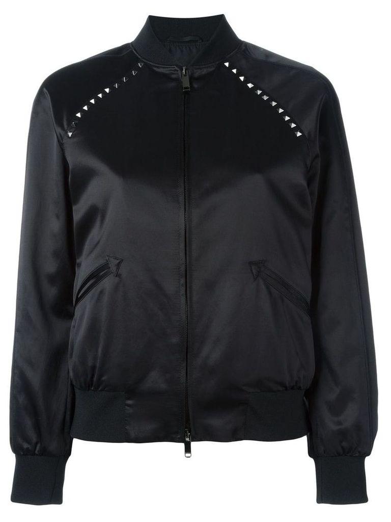 Valentino Rockstud bomber jacket - Black