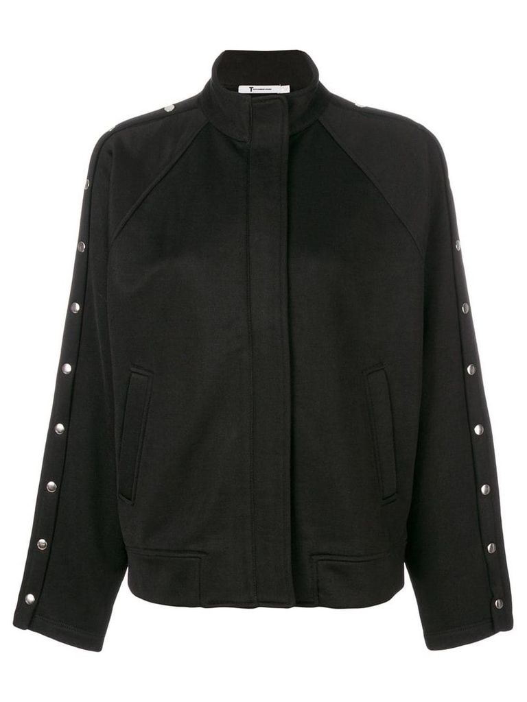 T By Alexander Wang studded jacket - Black