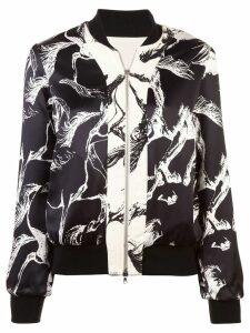 Adam Lippes zipped bomber jacket - White