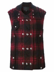 Alexander Wang double breasted waistcoat - Red