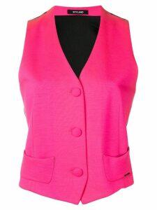 Styland two tone waistcoat - Pink